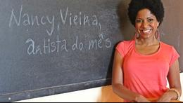 Nancy Vieira regressou à Escola Grande