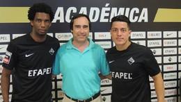 Lino regressa a Coimbra e Olascuaga é reforço