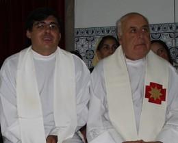 P.e Manuel Alberto e P.e Fernando Nogueira