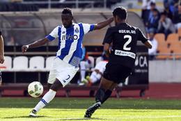 Varela em ação em Coimbra