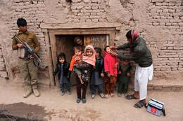 Vacinação poliomielite Jalalabad, Afeganistão