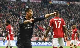 Ronaldo festeja golo