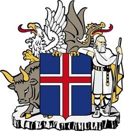 44 Brasão da Islândia