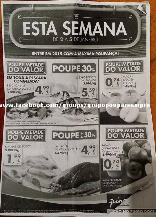 Antevisão Folheto PINGO DOCE de 2 a 5 janeiro p1.