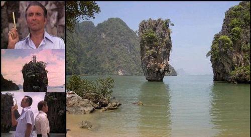 Ilha James Bond, Tailãndia