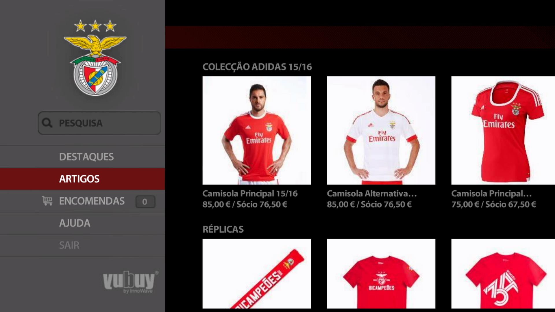 Loja do Benfica no MEO_imagem 2