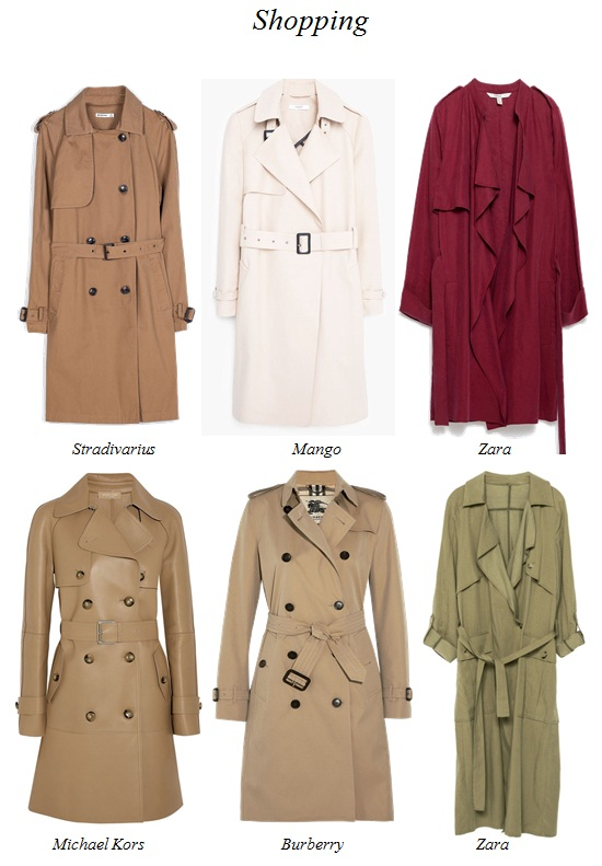 shopping trench