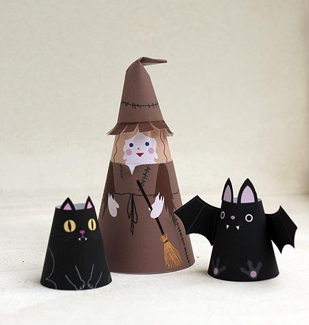 dobraduras bruxa halloween