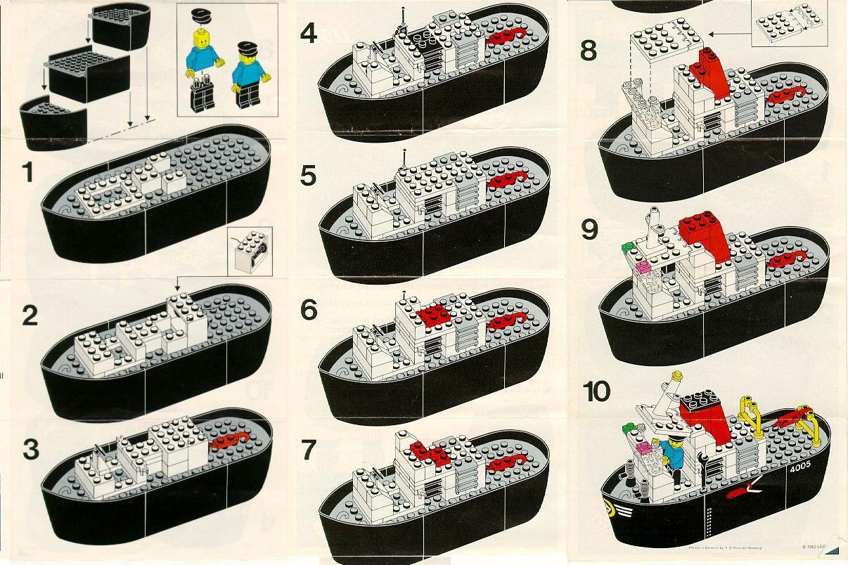 Lego 4005-1 (1982)
