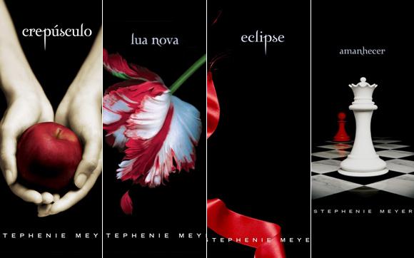 Resultado de imagem para livros da saga crepúsculo