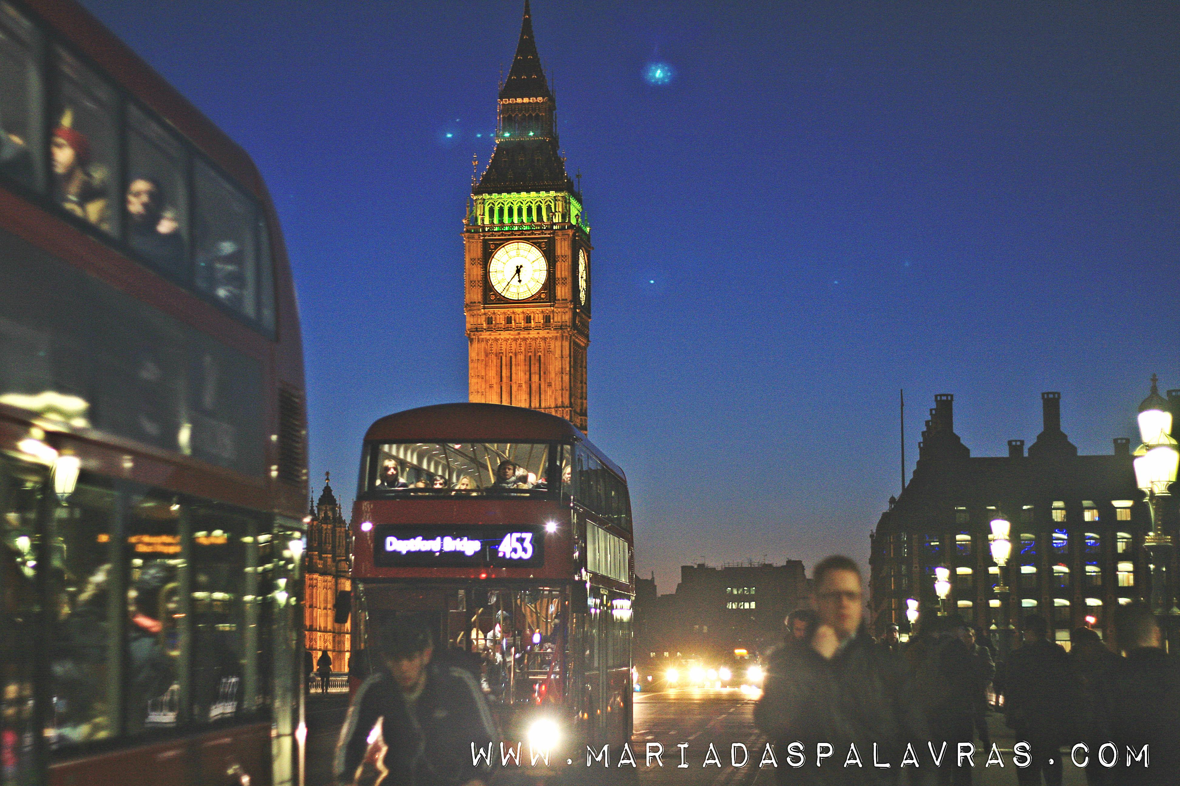 Big Ben, Londres - Maria das Palavras