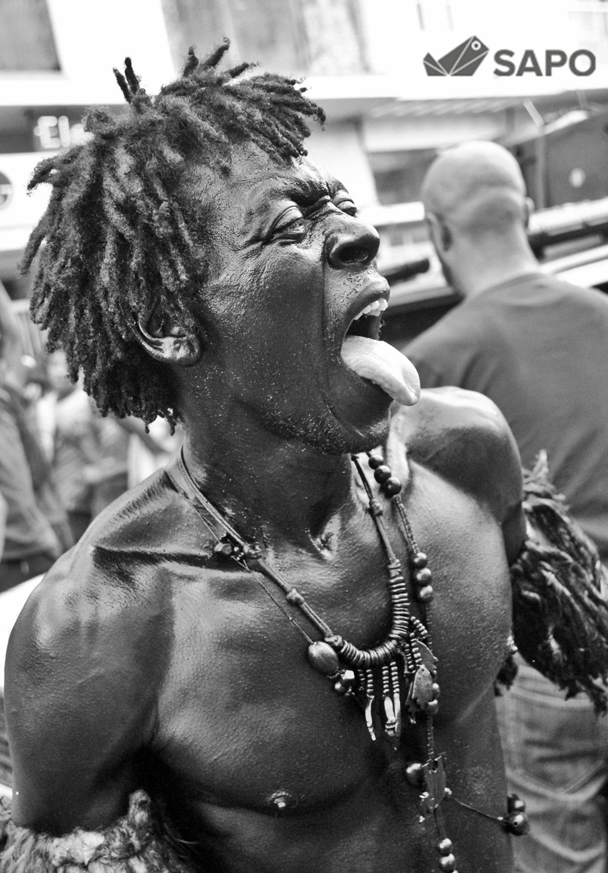 Mandingas de Ribeira Bote   Desfile 2015