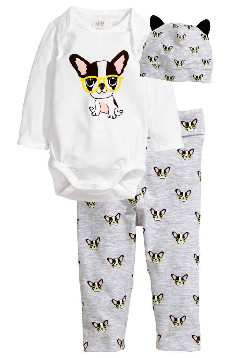 Baby Clothes With Boston Terriers On Them