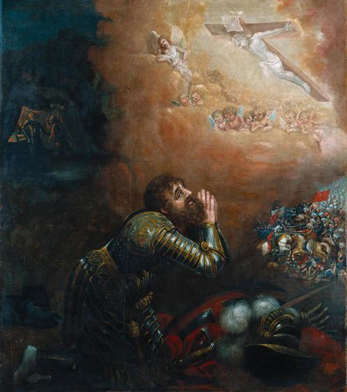Visão de D. Afonso Henriques na batalha de Ouriqu