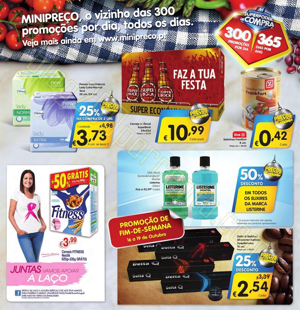 Antevisão Folheto MINIPREÇO de 16 a 22 outubro p