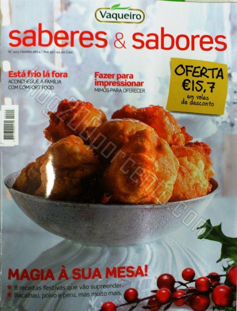 Novo Revista SABERES & SABORES Inverno com 15,70
