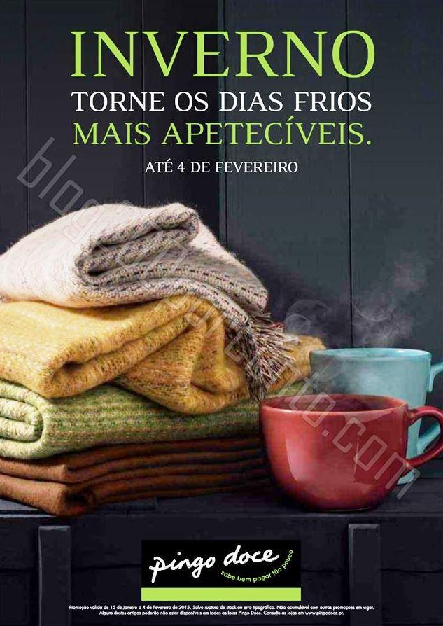 Novo Folheto PINGO DOCE Conforto de 15 a 4 feverei