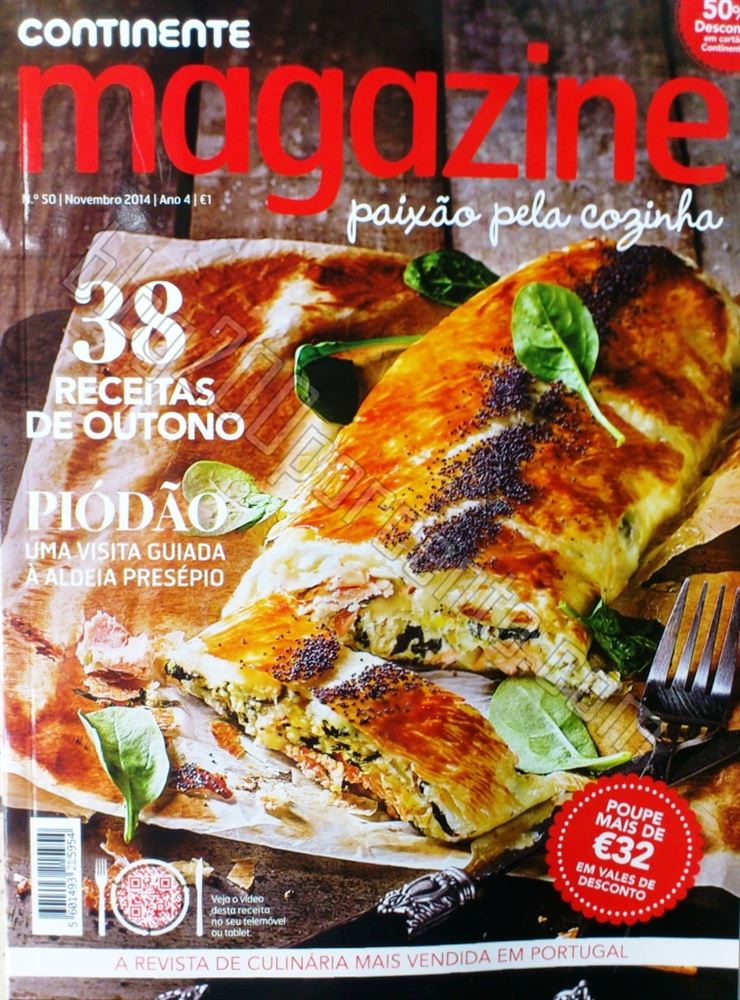 Nova Revista CONTINENTE Magazine de novembro p1.jp