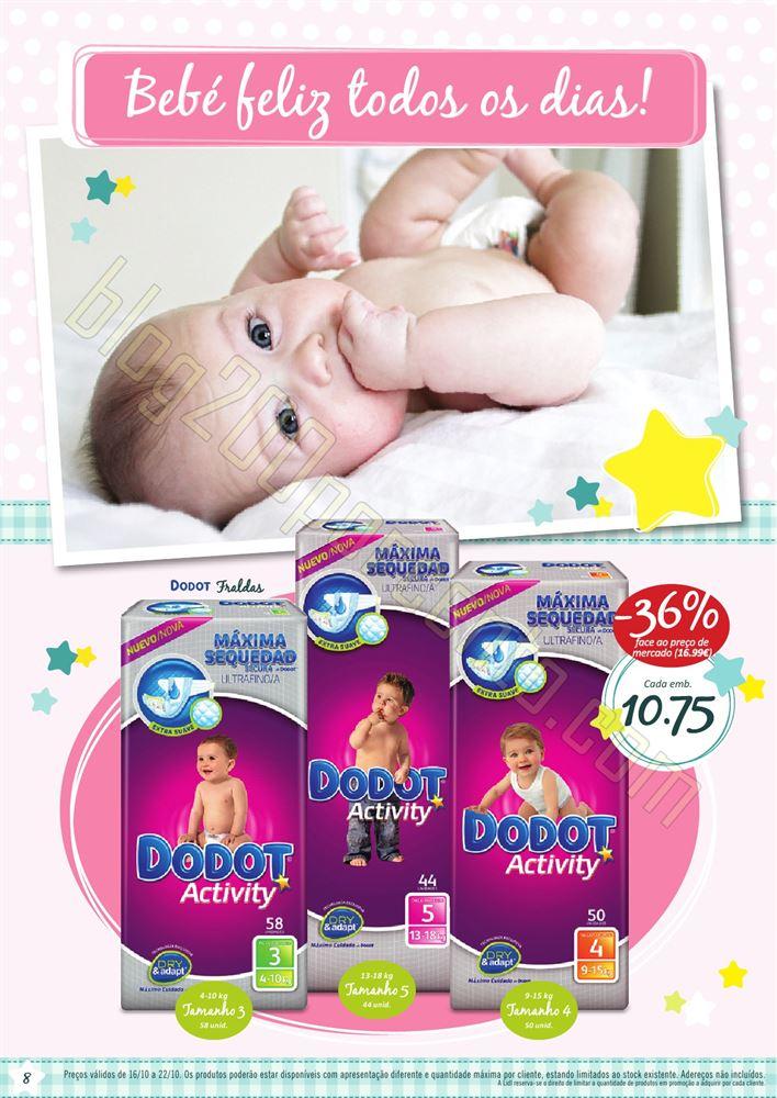 Antevisão Folheto LIDL de 16 a 22 outubro - Bebé